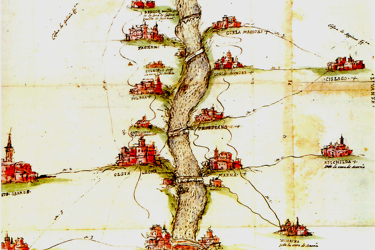 Cartina Lago Maggiore Stradale.Viabilita Nel Milanese
